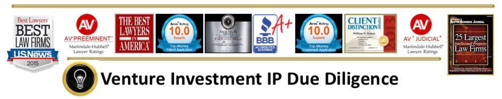BILL HULSEY LAWYER - PATENT - IP - Venture Investment IP Due Diligence