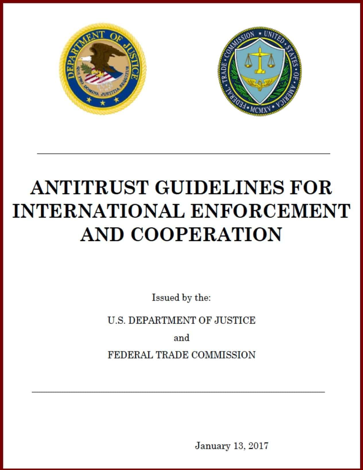 Int'l Antitrust IP Rules