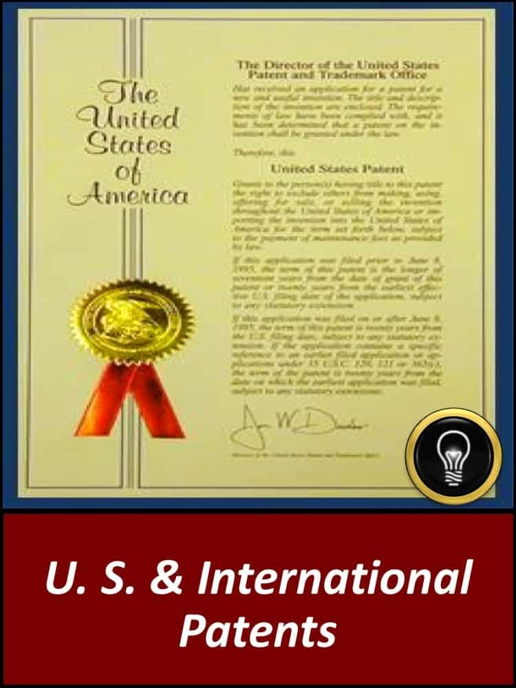 U.S. & International Patents