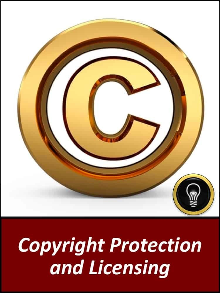 Copyright Protection & Licensing