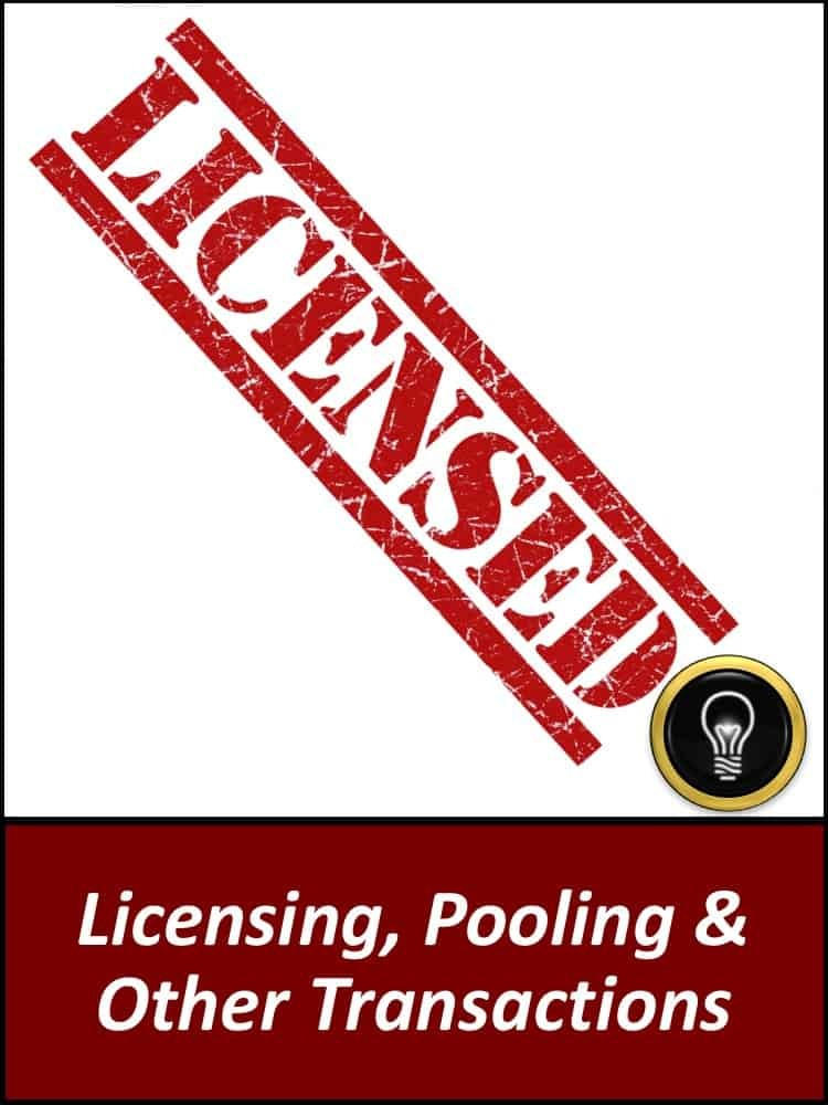 BILL HULSEY LAWYER - PATENT - IP - Licensing, Pooling & Other Transactions