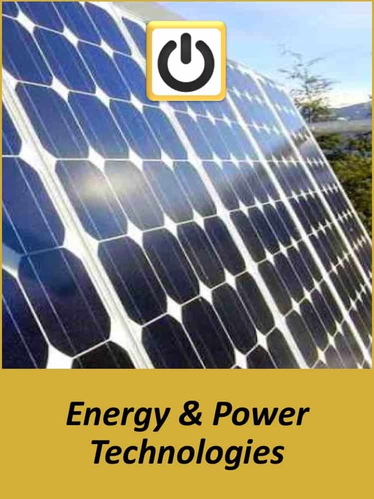 Technology Experience - Energy & Power Technologies