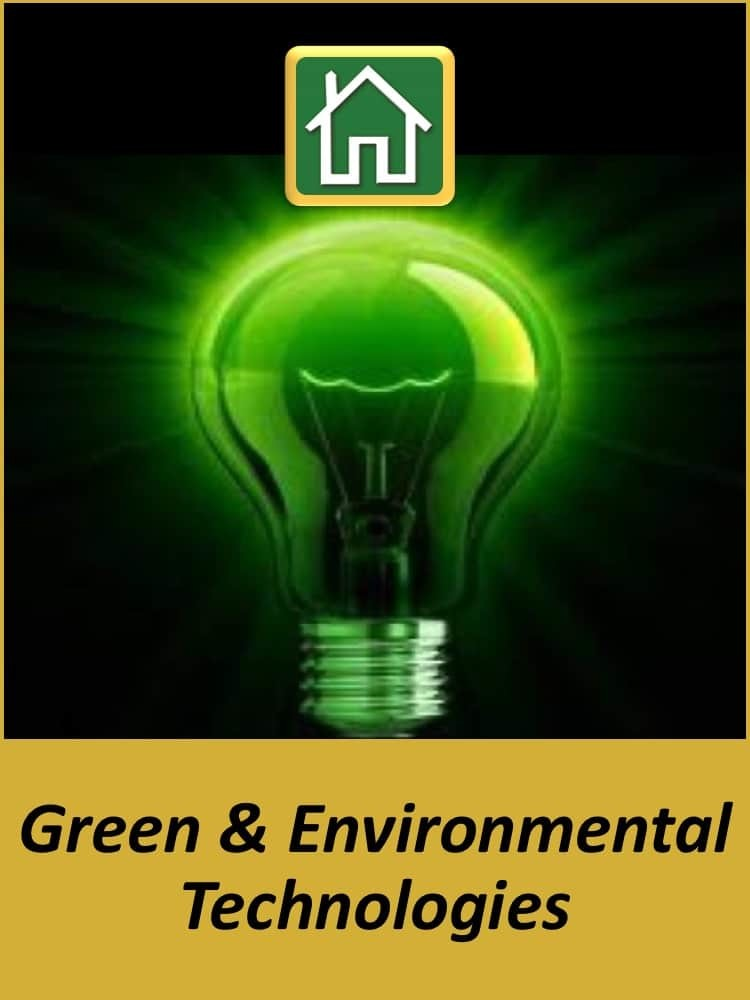 Technology Experience - Green & Environmental Technologies
