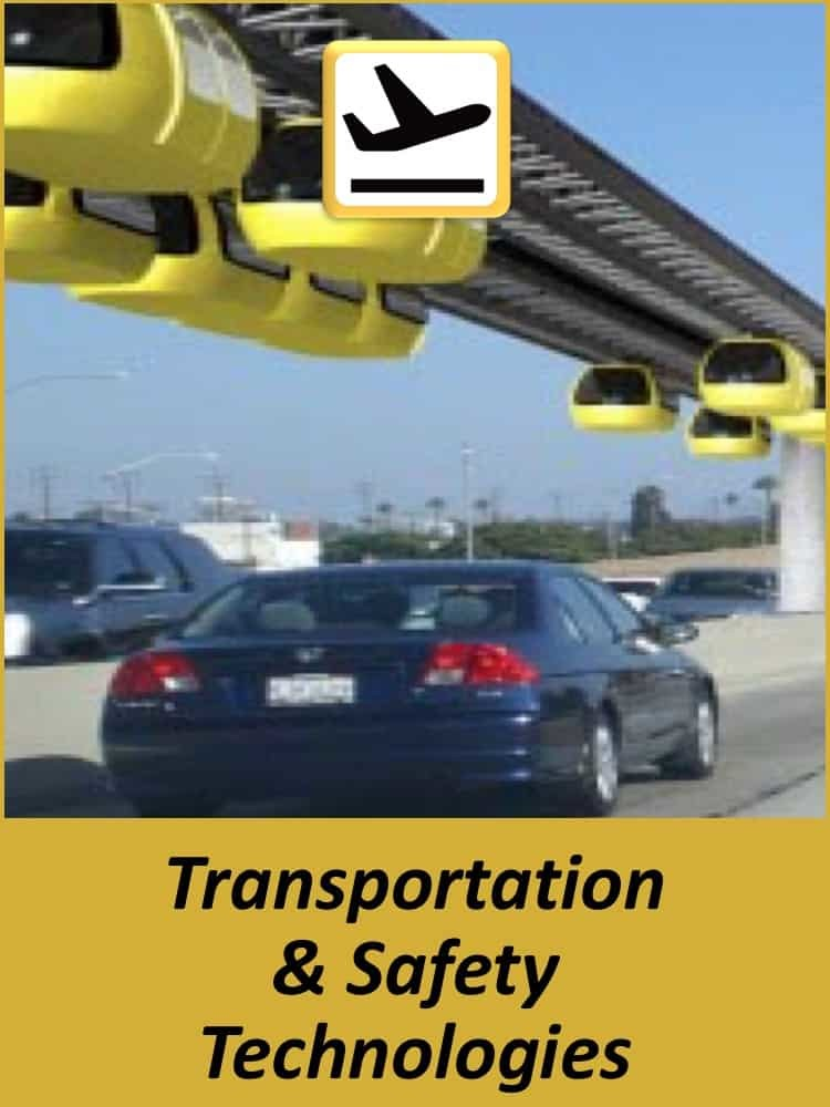 Technology Experience - Transportation & Safety Technologies