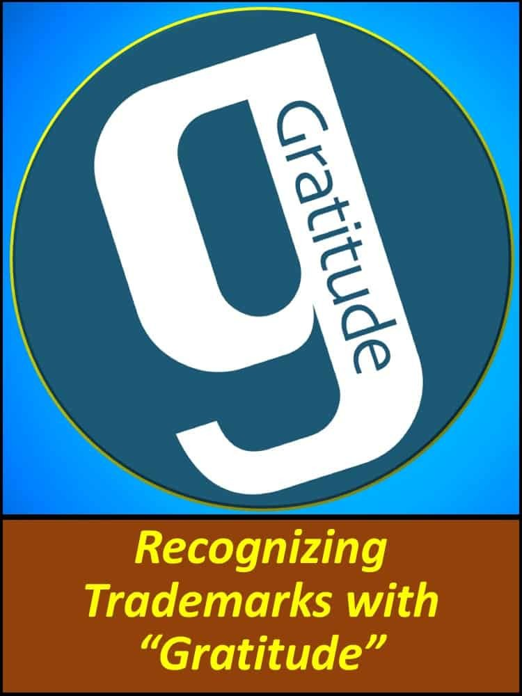 Recognizing Trademarks with 'Gratitude'
