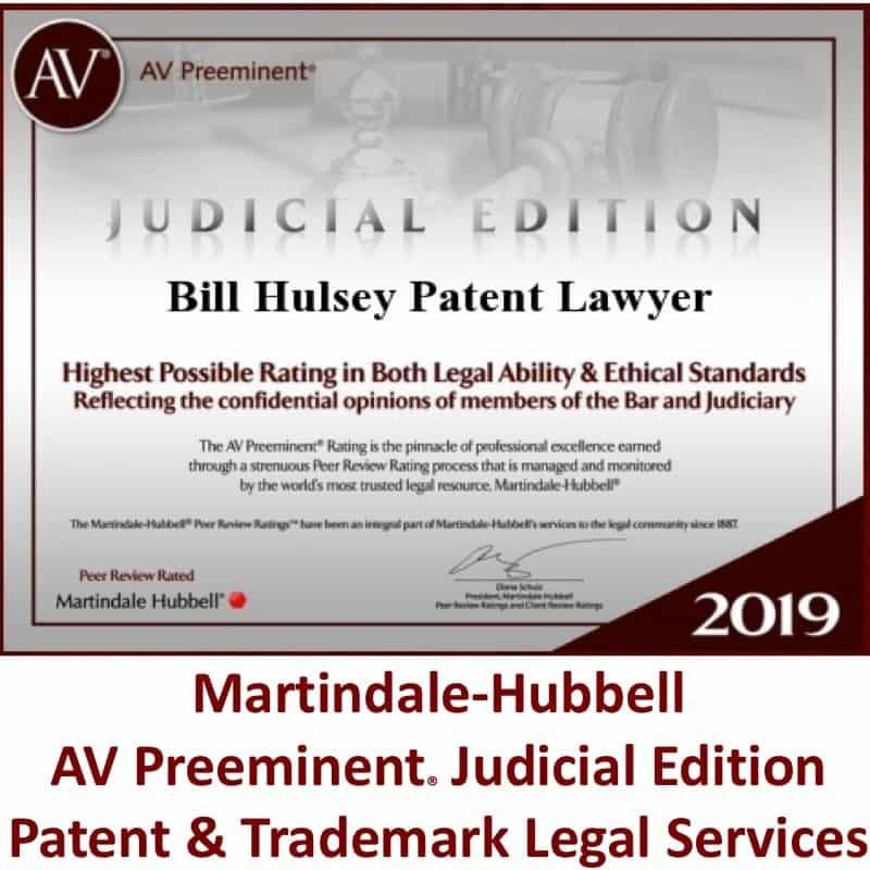 HULSEY PC - BILL HULSEY LAWYER PATENT
